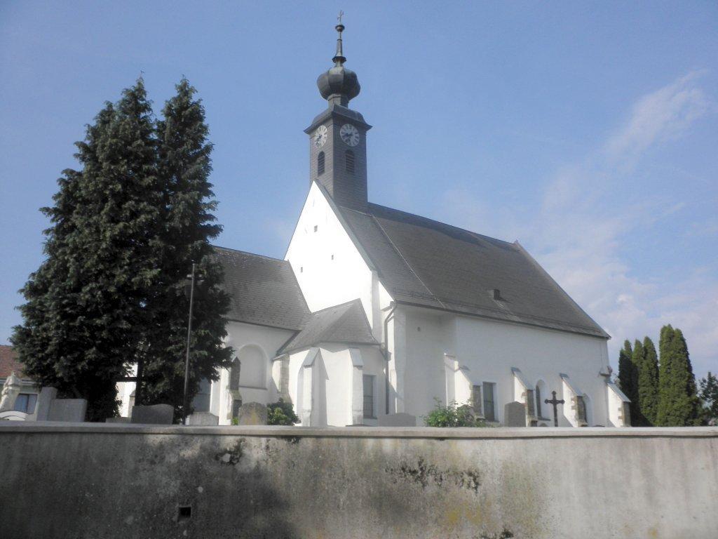 Pfarrkirche von Kirchstetten - Kirchstetten, Niederösterreich (3062-NOE)