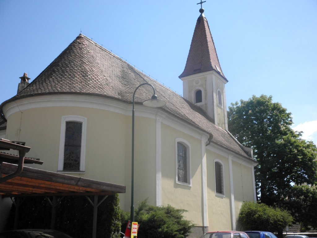 Kirche von Hautzendorf - Hautzendorf, Niederösterreich (2114-NOE)