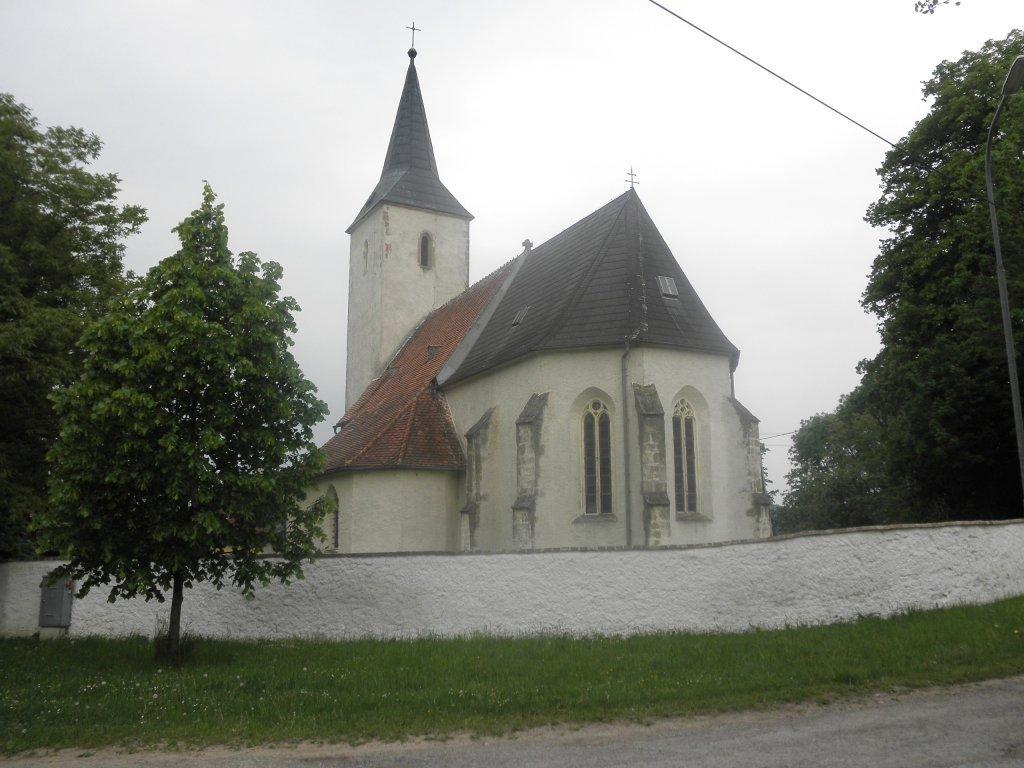 Kirche St. Peter am Anger bei Auserkasten - Außerkasten, Niederösterreich (3072-NOE)