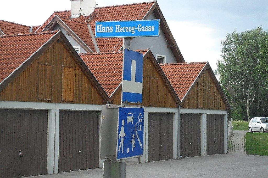 Wohnstraße - Hans Herzog-Gasse, Niederösterreich (2540-NOE)