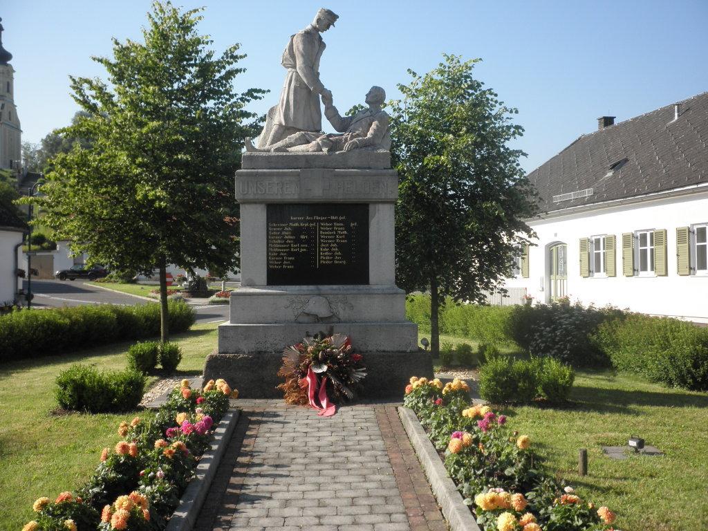 Kriegerehrenmal in St. Martin a. d. Raab - St. Martin an der Raab, Burgenland (8383-BGL)