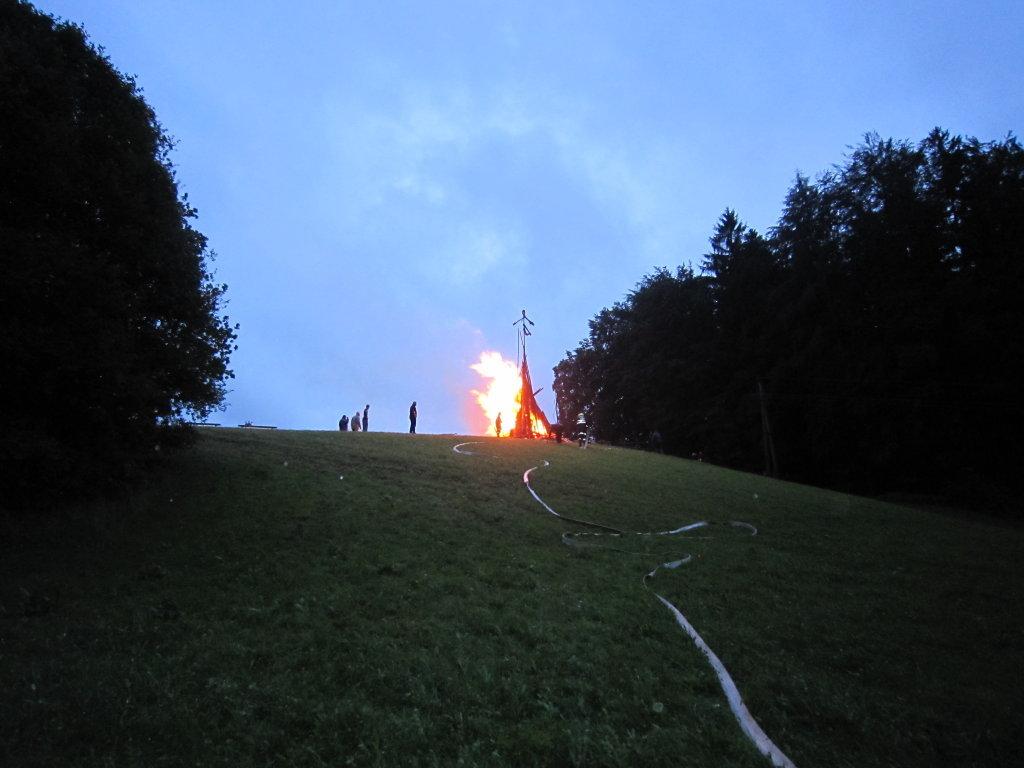 Sonnwendfeuer 2011 - Hinterschroffenau, Salzburg (5322-SBG)