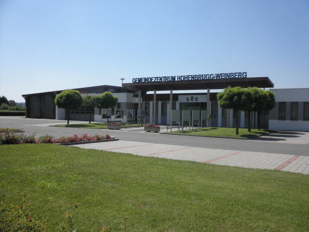Neue Gemeindezentrum in Hohenbrugg a. d. Raab - Hohenbrugg an der Raab, Steiermark (8350-STM)