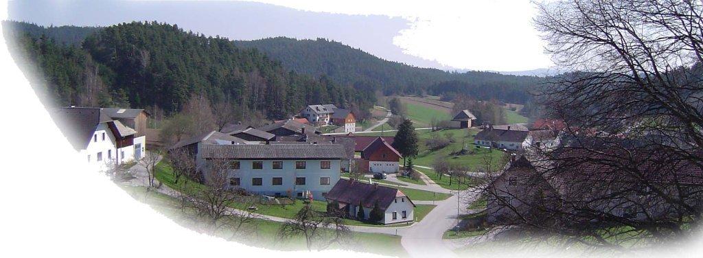 Hausbach Panorama - Hausbach, Niederösterreich (3911-NOE)