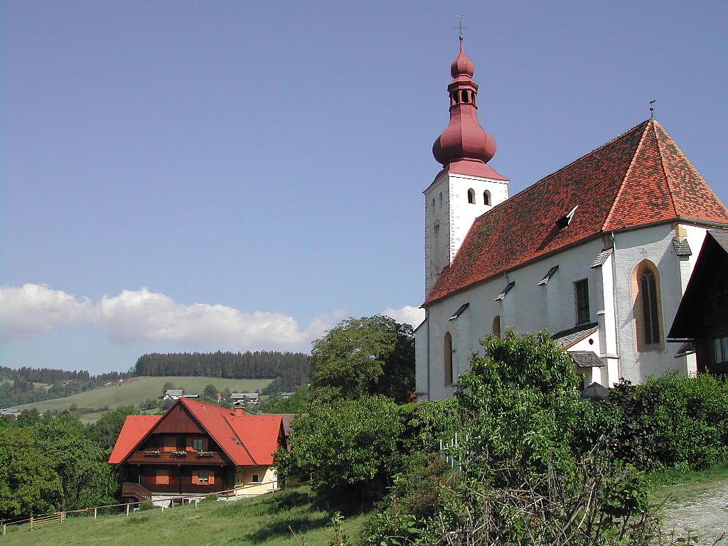 Kirche St.Johann in Kirchberg - Kirchberg, Steiermark (8592-STM)