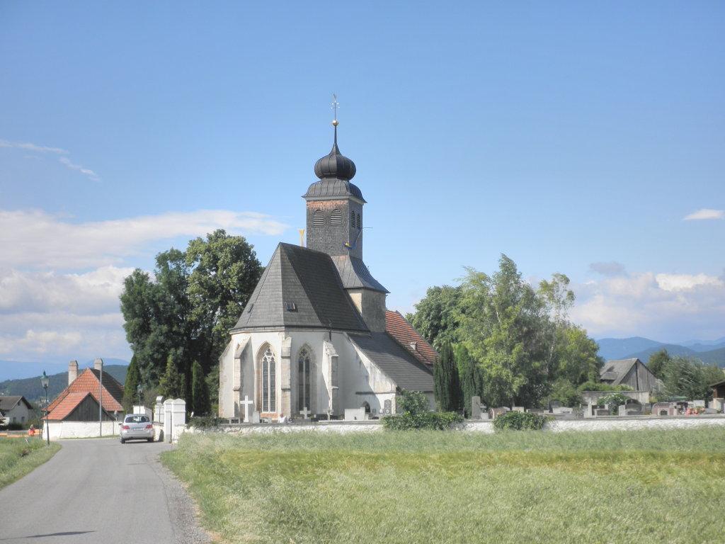 Pfarrkirche St. Peter am Moos bei Muthmannsdorf - Winzendorf-Muthmannsdorf, Niederösterreich (2722-NOE)