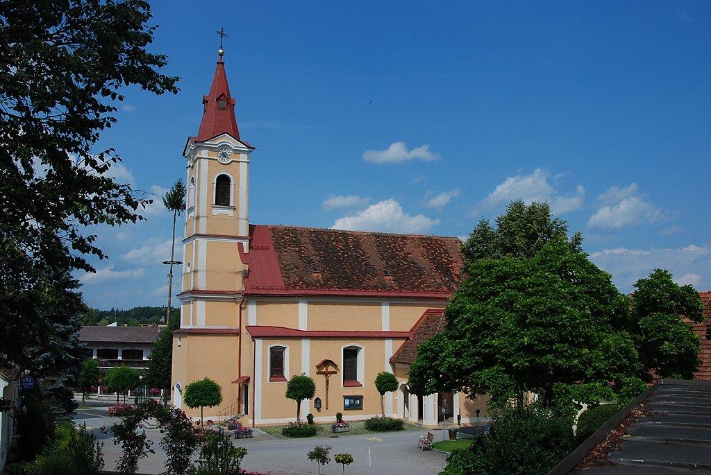 Pfarrkirche Loipersdorf bei Fürstenfeld - Loipersdorf bei Fürstenfeld, Steiermark (8280-STM)