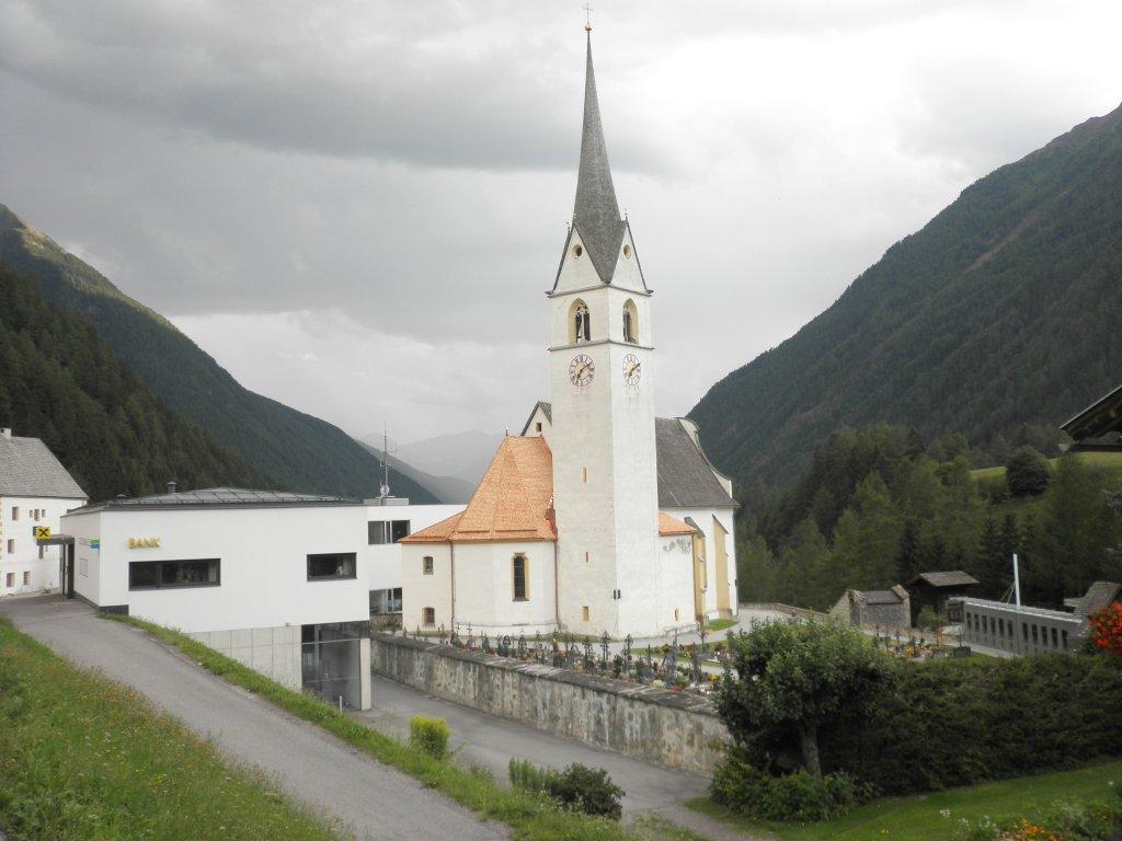 Pfarrkirche in Kals am Großglockner - Kals am Großglockner, Tirol (9981-TIR)