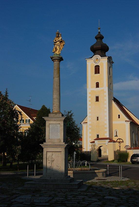 Pfarrkirche Altenmarkt bei Fürstenfeld - Altenmarkt bei Fürstenfeld, Steiermark (8280-STM)
