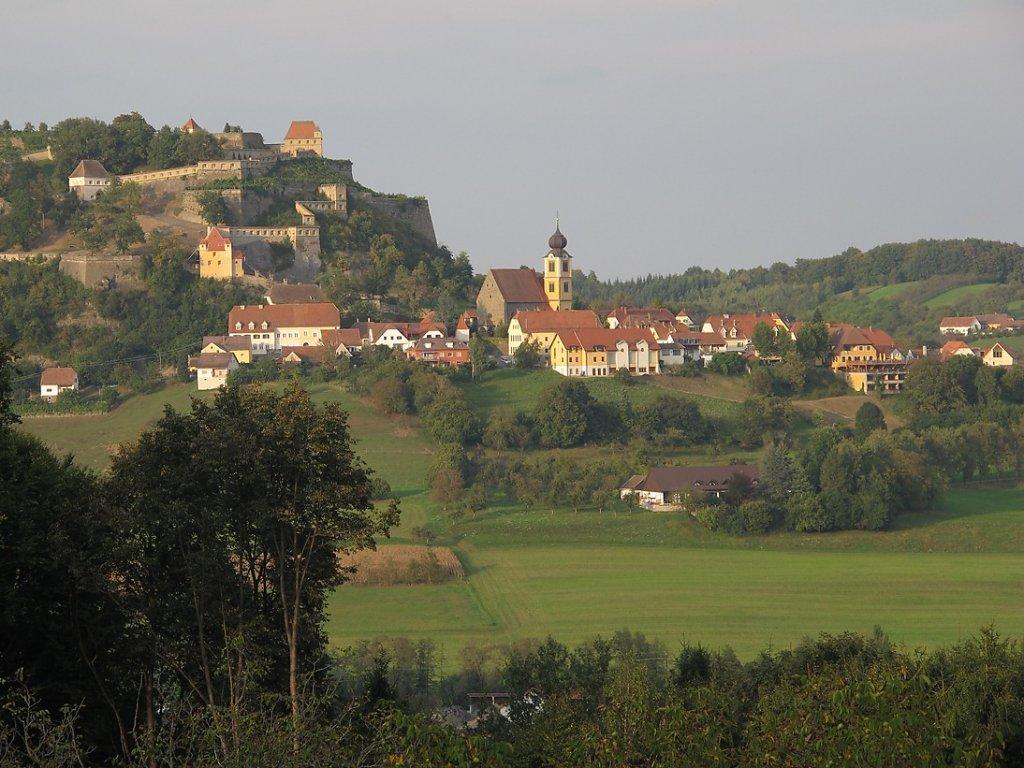 Ortsansicht Riegersburg - Riegersburg, Steiermark (8312-STM)