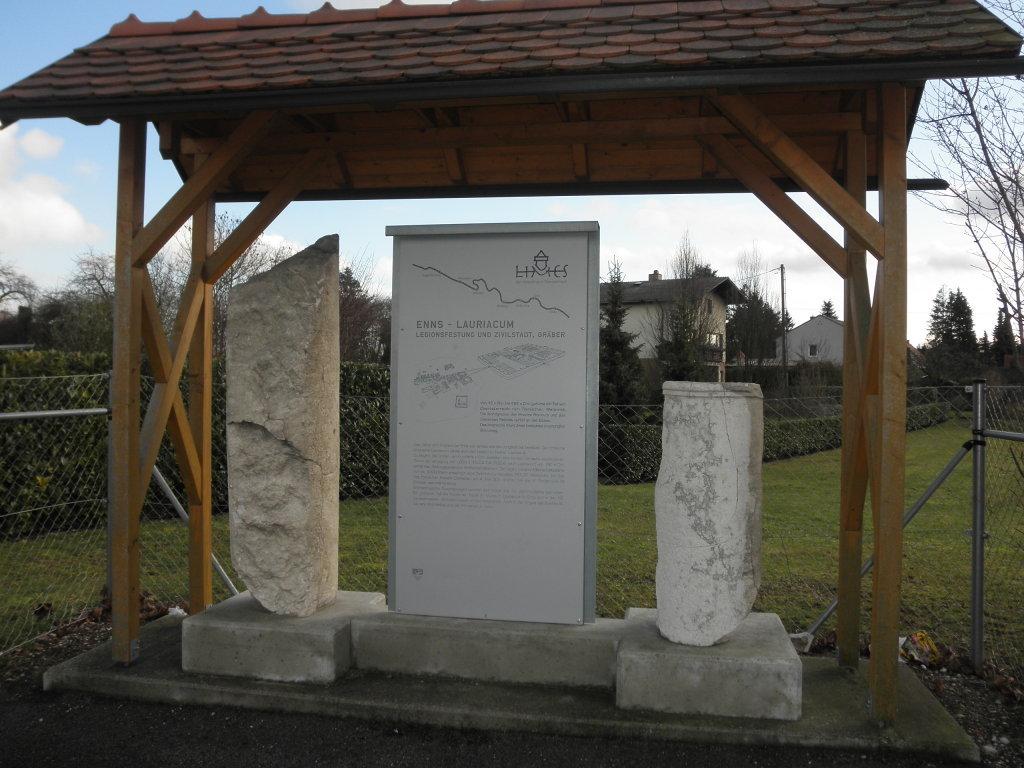 Infotafel Enns-Lauriacum - Enns, Oberösterreich (4470-OOE)