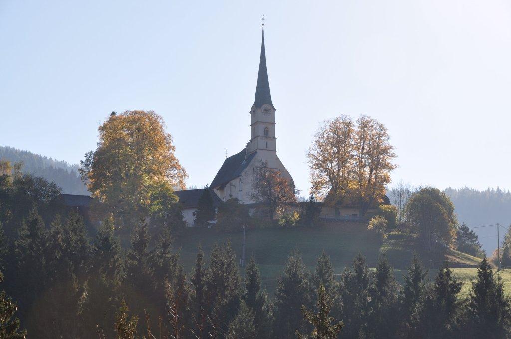 Pfarr- und Wallfahrtskirche Unsere Liebe Frau mit Wehrkirchenanlage - Hochfeistritz, Kärnten (9372-KTN)