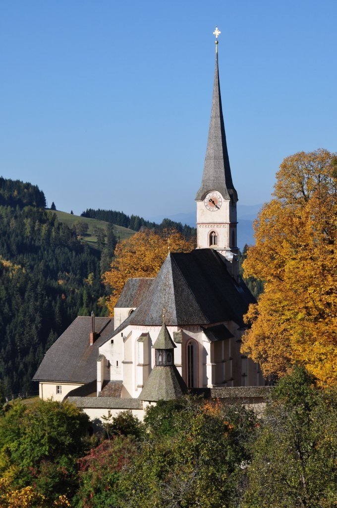 Pfarr- und Wallfahrtskirche Unsere Liebe Frau - Hochfeistritz, Kärnten (9372-KTN)