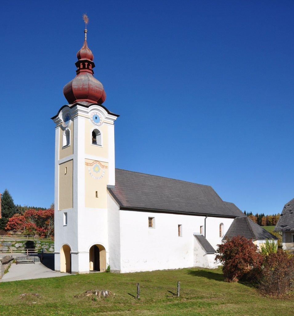 Pfarrkirche heiliger Jakob der Ältere - Sankt Jakob, Kärnten (9342-KTN)