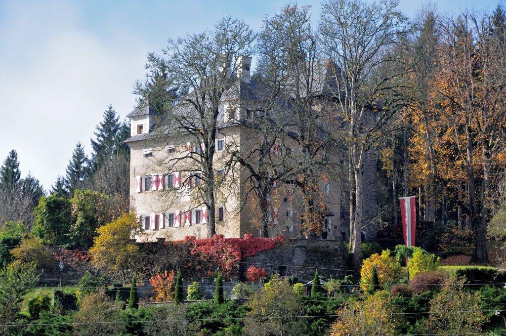 Schloss Thurnhof des 15. und 16. Jahrhunderts - Zweinitz, Kärnten (9343-KTN)