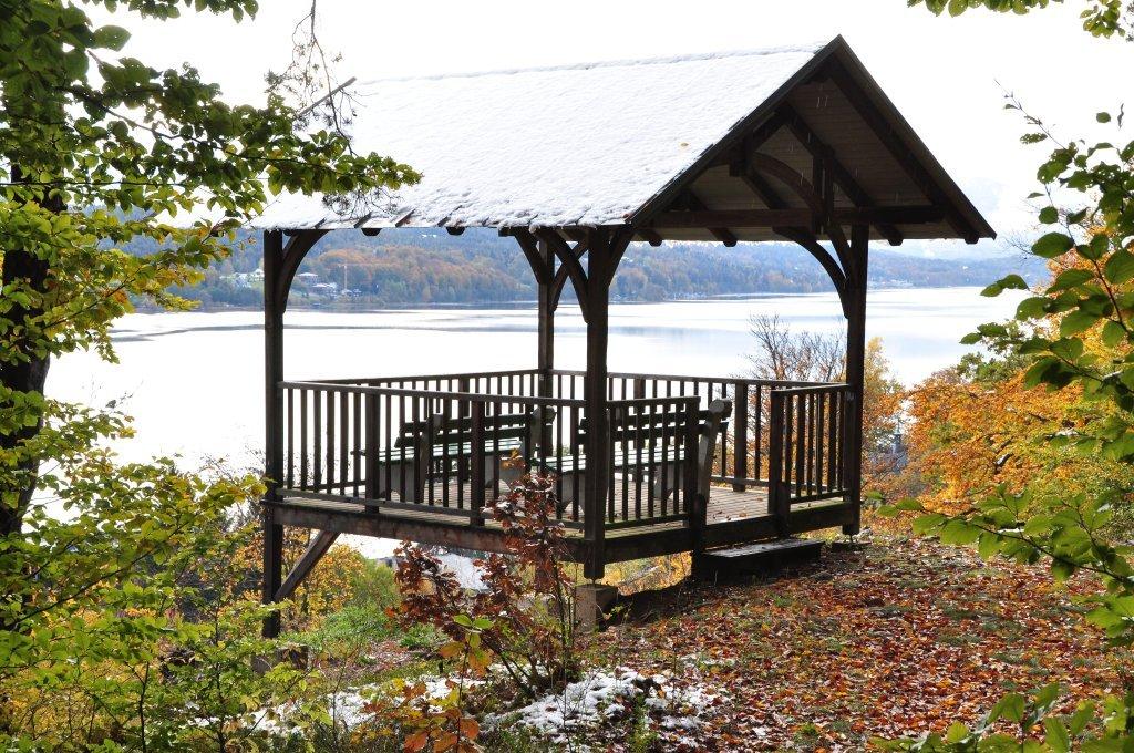 Pavillon auf der niederen Gloriette - Pörtschach am Wörther See, Kärnten (9210-KTN)