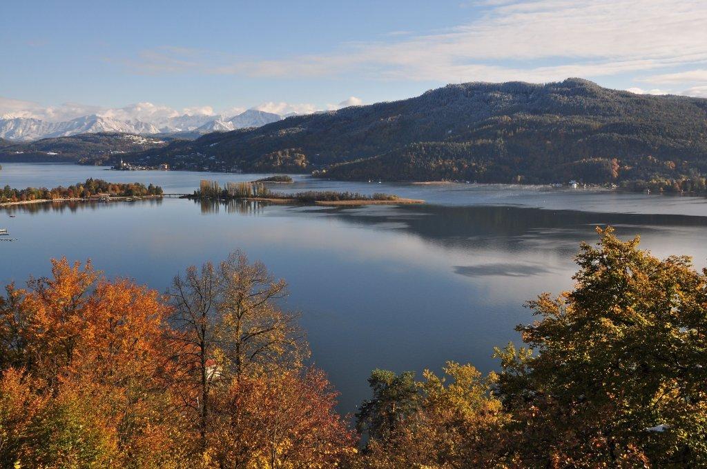 Schlangeninsel und Pyramidenkogel - Pörtschach am Wörther See, Kärnten (9210-KTN)