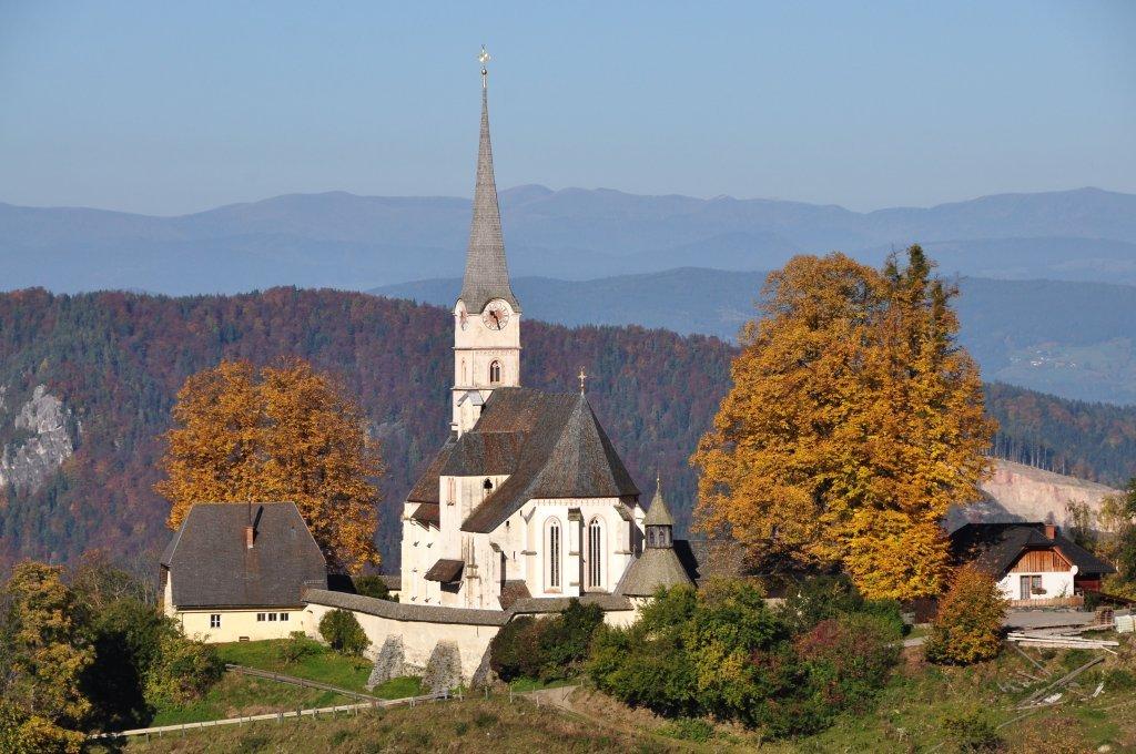 Pfarr- und Wallfahrtskirche Unsere Liebe Frau mit ehemaliger Volksschule - Hochfeistritz, Kärnten (9372-KTN)
