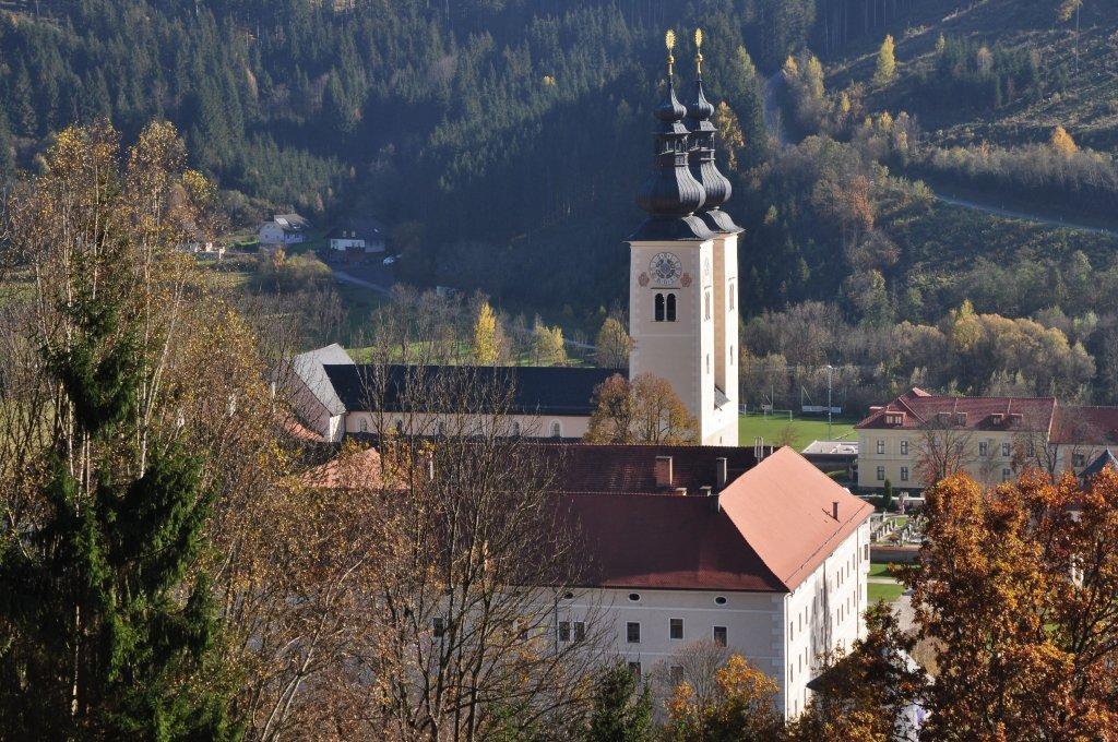 Stift und Dom, Nord-Ansicht - Gurk, Kärnten (9342-KTN)
