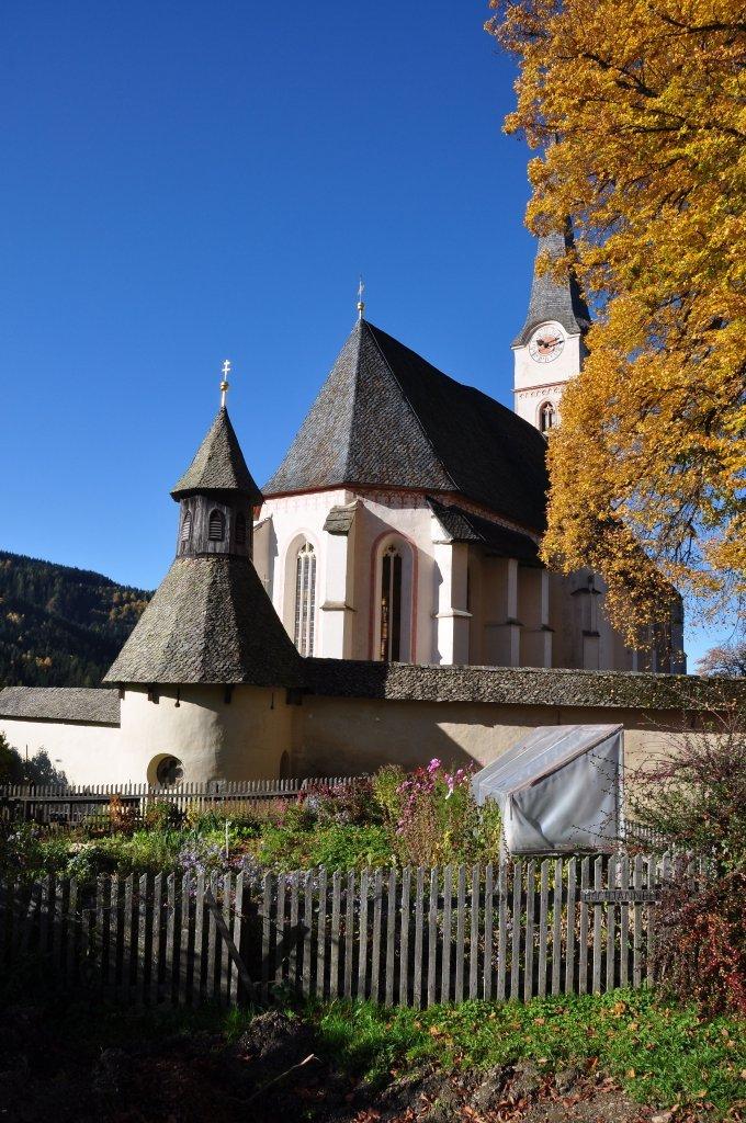 Kapelle mit Pfarr- und Wallfahrtskirche Unsere Liebe Frau - Hochfeistritz, Kärnten (9372-KTN)
