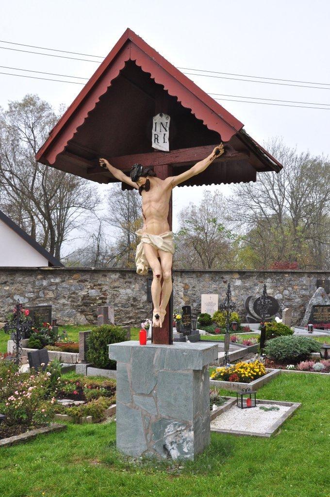 Kruzifix am Ortsfriedhof von Weitensfeld - Weitensfeld im Gurktal, Kärnten (9344-KTN)