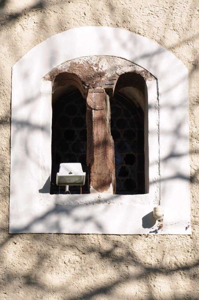 Fenster über W-Portal der Filialkirche heiliger Johannes d. T. - Spitzwiesen, Kärnten (9571-KTN)