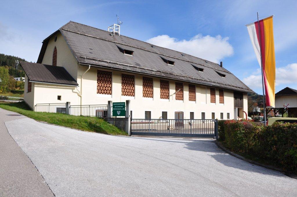 Wirtschaftshof der Gemeinde Pörtschach a. W. in Goritschach - Pörtschach am Wörther See, Kärnten (9210-KTN)