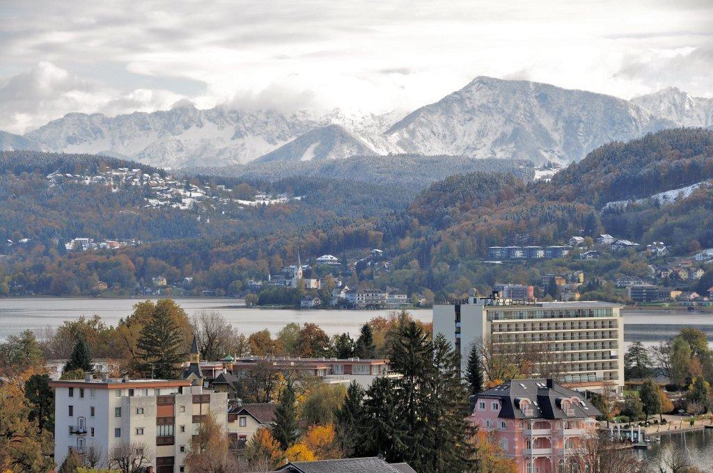 Blick Richtung Maria Wörth und das Ferlacher Horn - Pörtschach am Wörther See, Kärnten (9210-KTN)