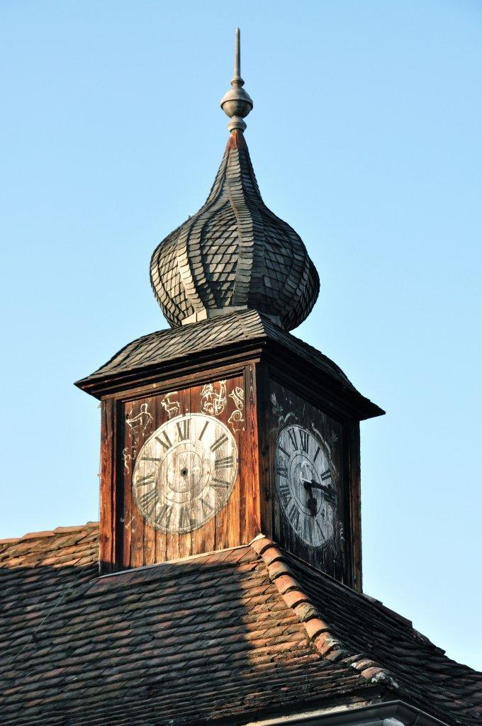 Uhrturm auf Schloss Leonstain - Pörtschach am Wörther See, Kärnten (9210-KTN)