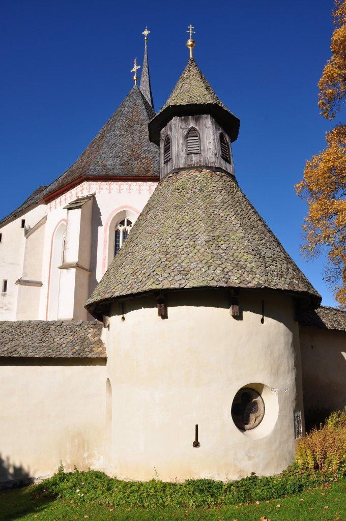 Kapelle und vormaliger Wehrturm der Wehrkirchenanlage - Hochfeistritz, Kärnten (9372-KTN)