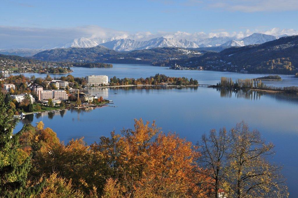 Ansicht von der Hohen Gloriette - Pörtschach am Wörther See, Kärnten (9210-KTN)