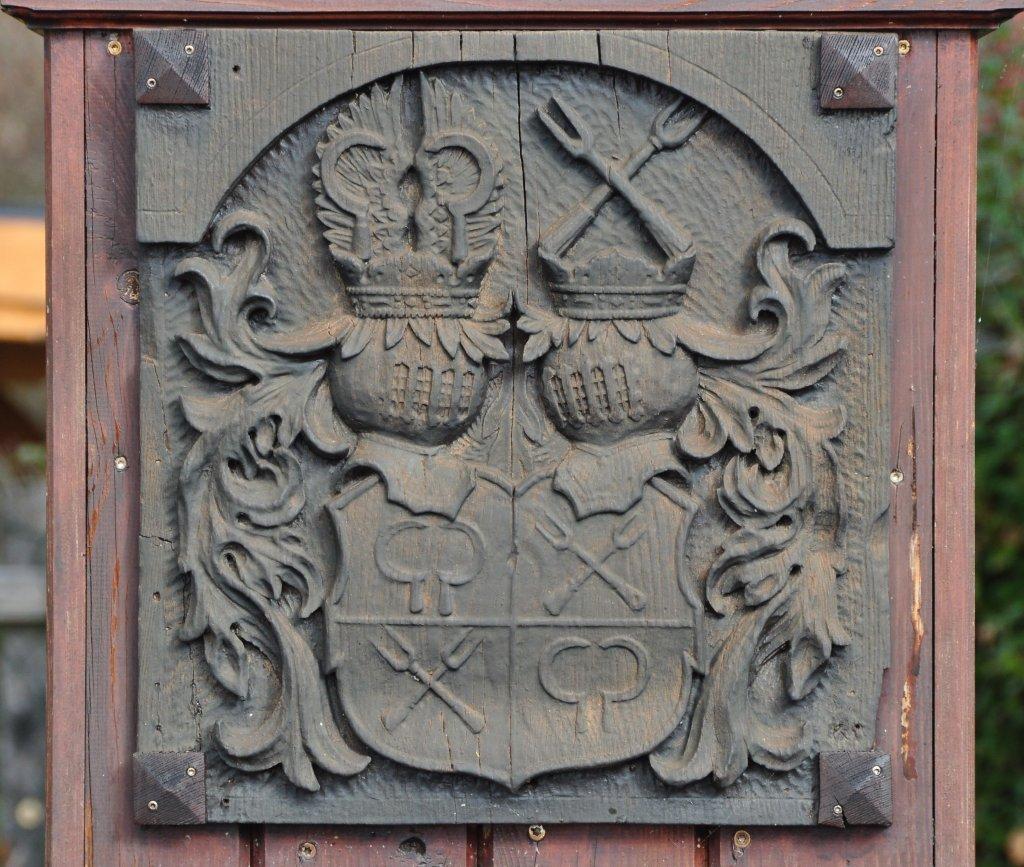 Wappenrelief am Tattermannbrunnen - Zweinitz, Kärnten (9343-KTN)