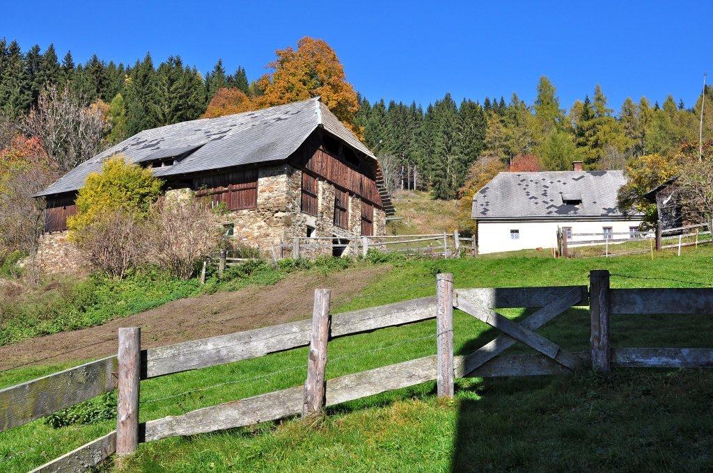Anwesen vulgo Fasch in Höllein auf dem Mödringbergzug - Höllein, Kärnten (9341-KTN)