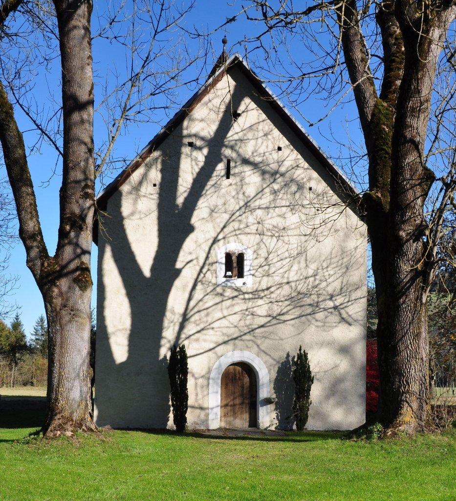 Portalseite der Filialkirche Heiliger Johannes der Täufer - Spitzwiesen, Kärnten (9571-KTN)