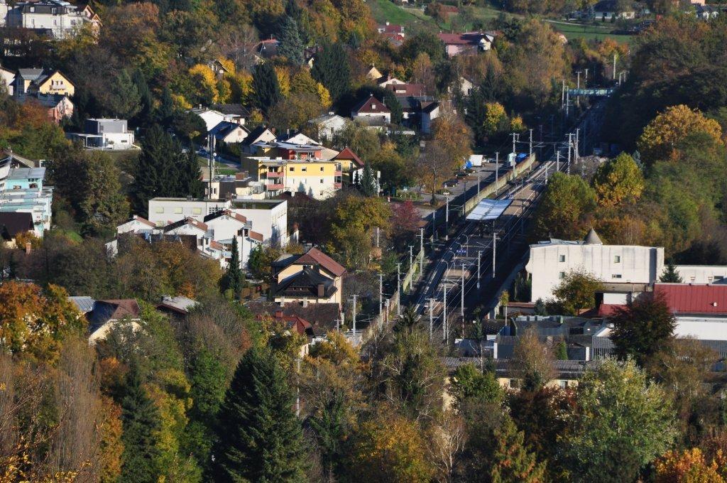 Bahnhof mit Winklern - Pörtschach am Wörther See, Kärnten (9210-KTN)