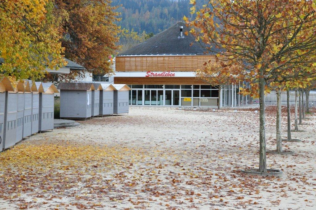 Blumenstrand, Strandleben - Pörtschach am Wörther See, Kärnten (9210-KTN)