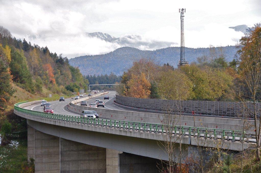 Süd-Autobahn bei Sallach - Pörtschach am Wörther See, Kärnten (9210-KTN)