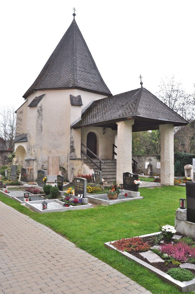 Aufbahrungshalle und Friedhofskarner - Weitensfeld im Gurktal, Kärnten (9344-KTN)