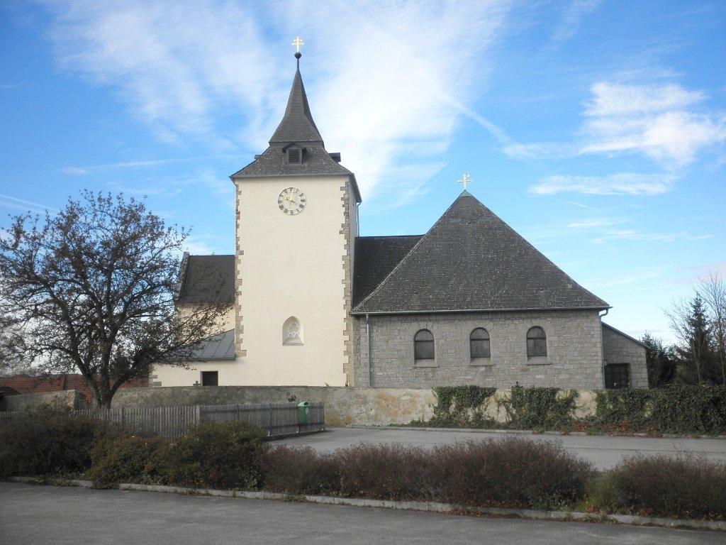 Kath. Pfarrkirche - hl. Jakobus der Ältere - Echsenbach, Niederösterreich (3804-NOE)