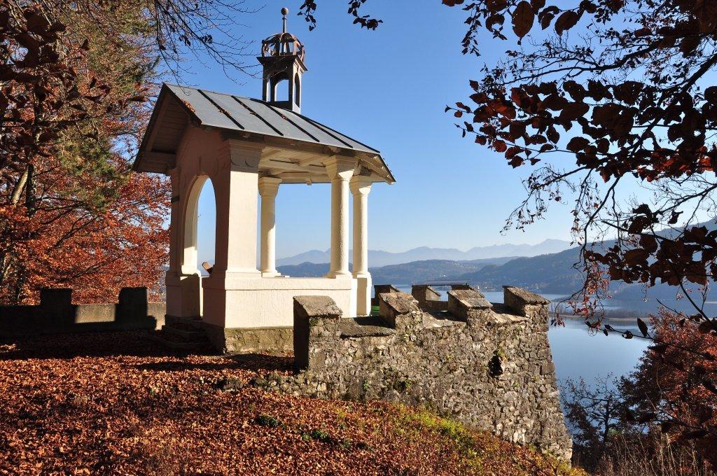 Hohe Gloriette, Aussichtspunkt - Pörtschach am Wörther See, Kärnten (9210-KTN)