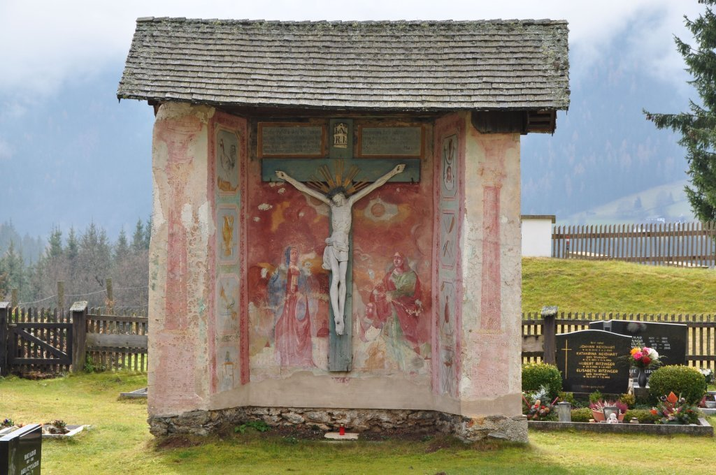 Friedhofsmarterl um 1800 - Zedlitzdorf, Kärnten (9563-KTN)