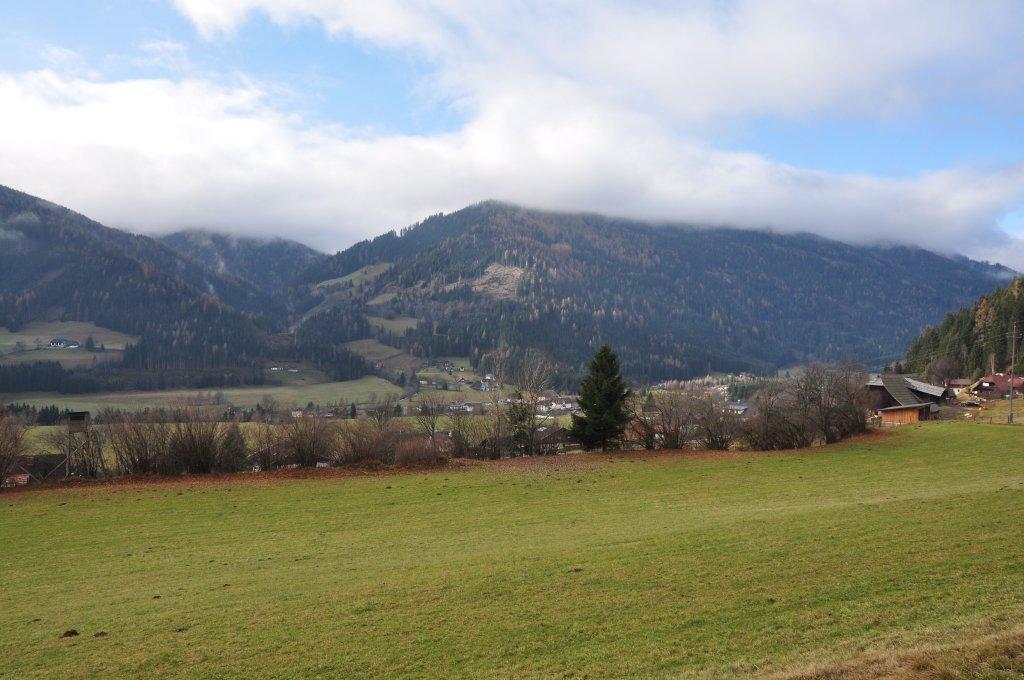 Blick auf das obere Gurktal - Zedlitzdorf, Kärnten (9563-KTN)