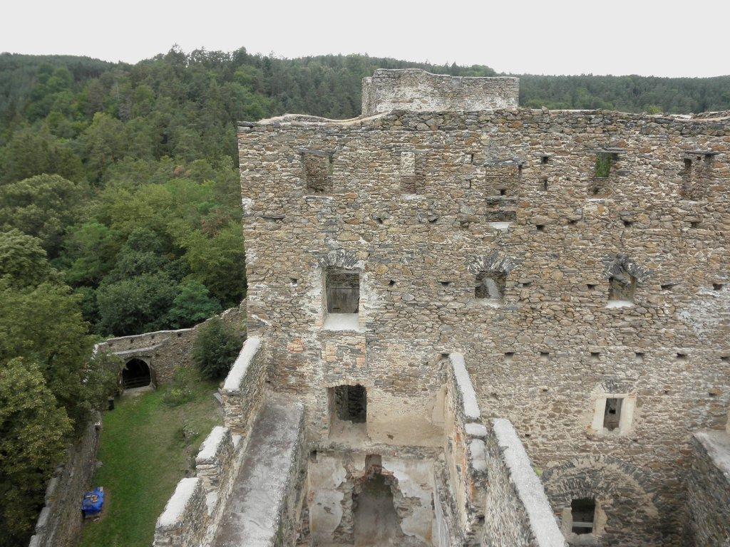 Ruine Kronsegg bei Schiltern - Schiltern, Niederösterreich (3553-NOE)