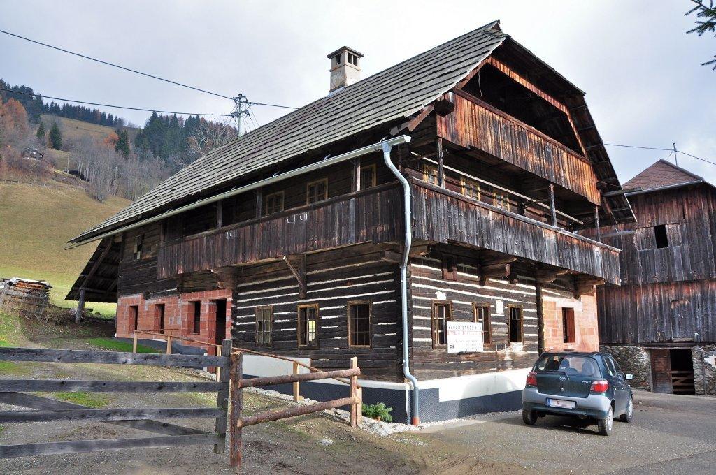 Zedlitzdorf Nr. 32: Traditionelles Wohnhaus in Blockbauweise - Zedlitzdorf, Kärnten (9563-KTN)