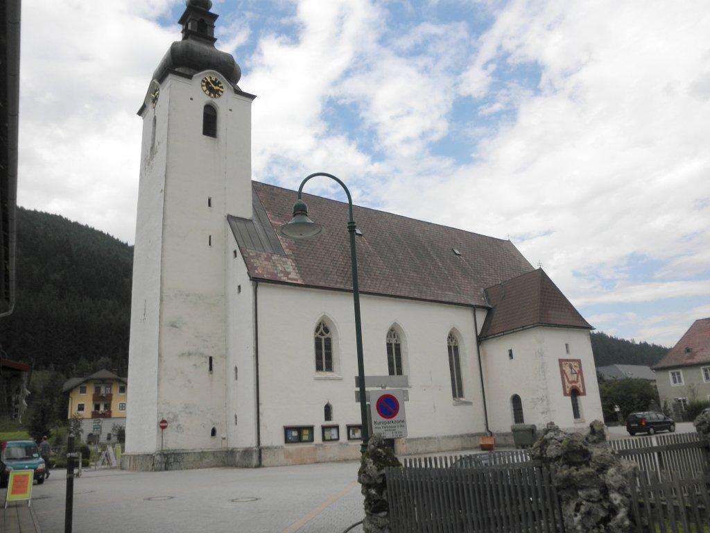 Pfarrkirche Lunz am See - Lunz am See, Niederösterreich (3293-NOE)