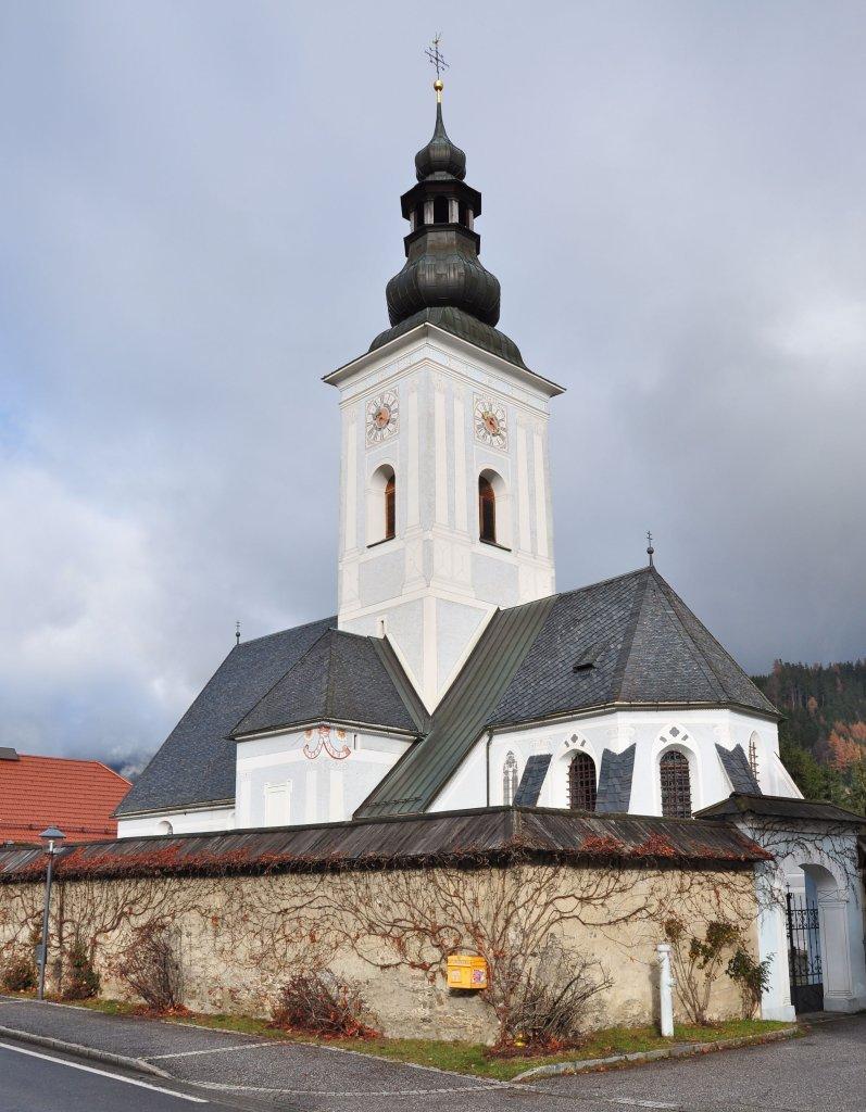 Katholische Pfarrkirche Heiliger Leonhard - Gnesau, Kärnten (9563-KTN)