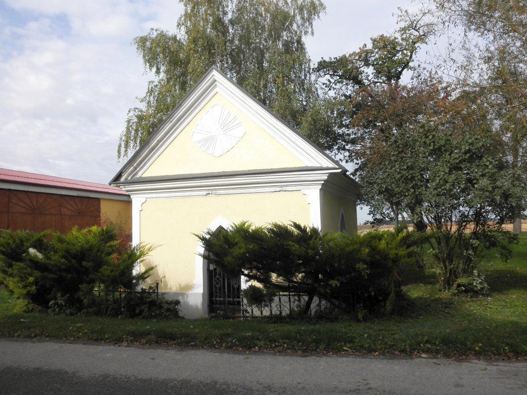 Die Stöger-Kapelle in Pfosendorf bei Scherbling - Scherbling, Niederösterreich (3363-NOE)