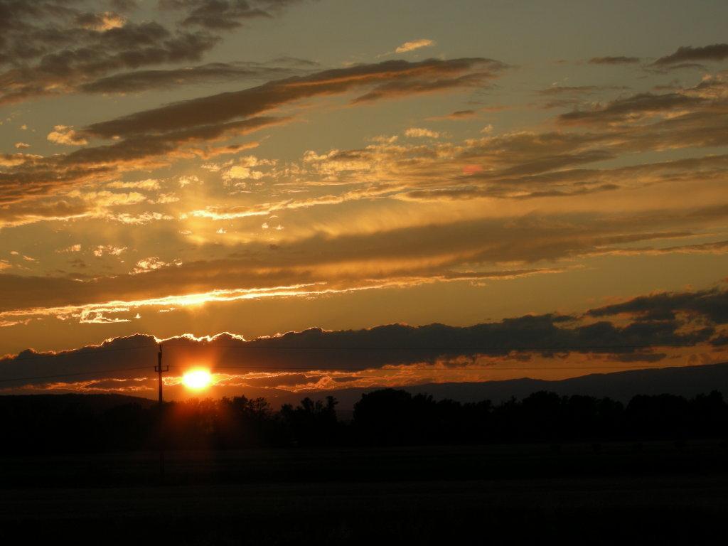 Sonnenuntergang - Kleinzicken, Burgenland (7503-BGL)