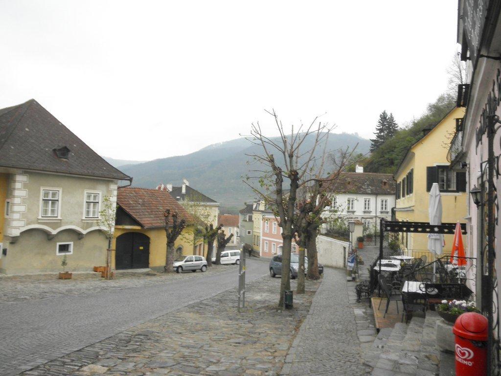 Marktstraße in Spitz an der Donau - Spitz, Niederösterreich (3620-NOE)