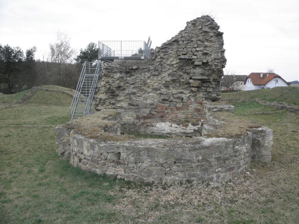 Ruine Sachsendorf - Sachsendorf, Niederösterreich (3713-NOE)